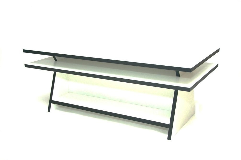 Black and White Coffee Table By David Watson