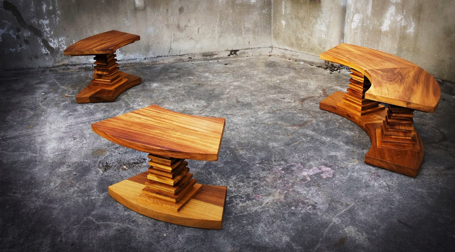 Handmade Outdoor Benches By David Watson