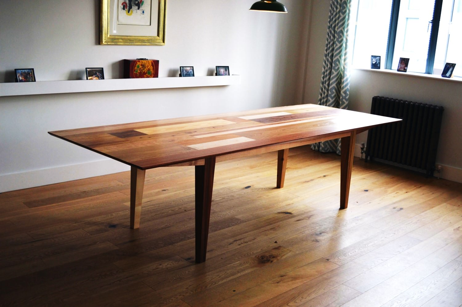 Handmade Dining Table Stunning Feature Piece By David Watson