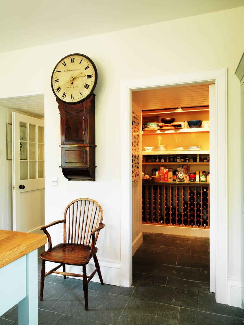 Bespoke Pantry From Locally Sourced Scottish Materials By David Watson