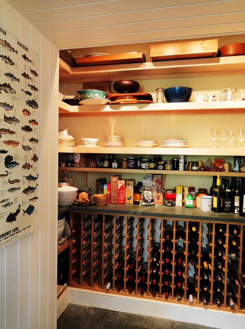 Bespoke Shelving and Wine Rack Handmade In Scotland