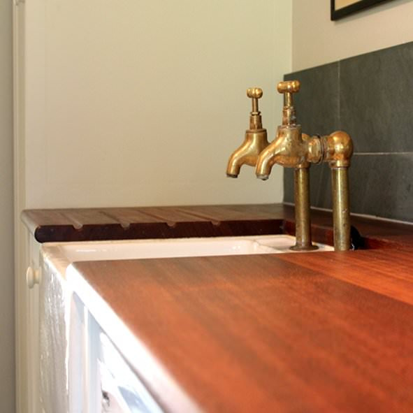 Handmade Utility Room Furniture by David Watson Cabinet Makers