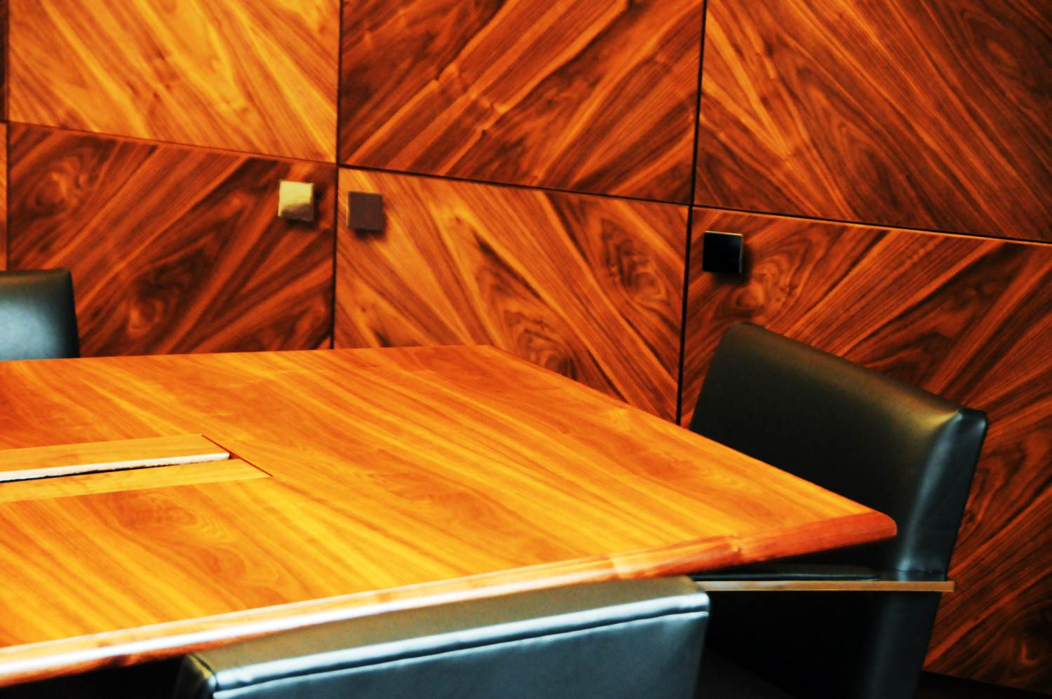 Bespoke Boardroom Table Made in Scotland
