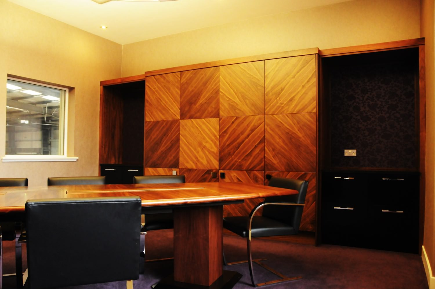 Bespoke Boardroom Furniture Glasgow
