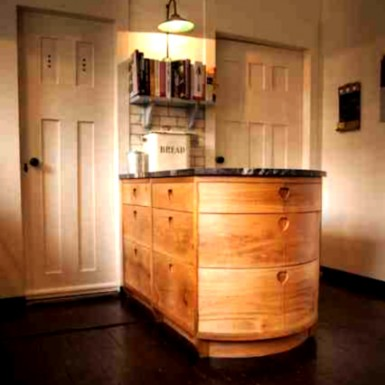 Scottish oak kitchen